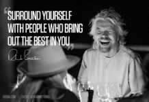 You are as Good as the People you Surround with